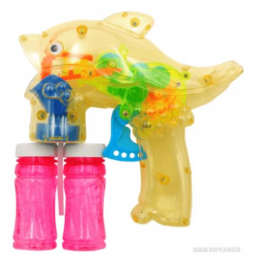 Muilo burbulų šautuvas Delfinas, mechaninis