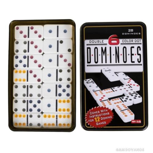 Stalo žaidimas dėžutėje Domino