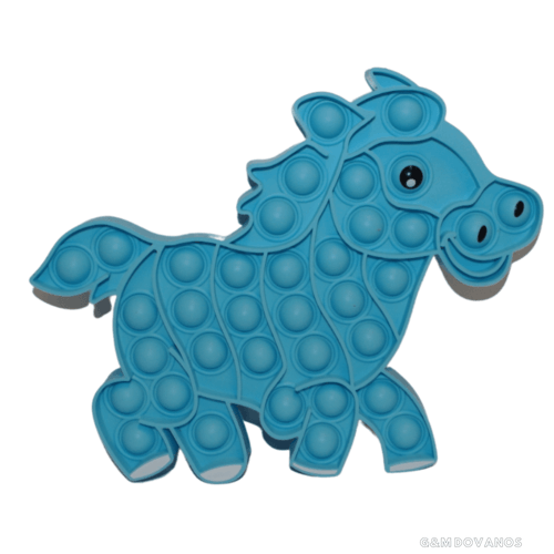 Silikoninis žaislas POP IT, arkliukas