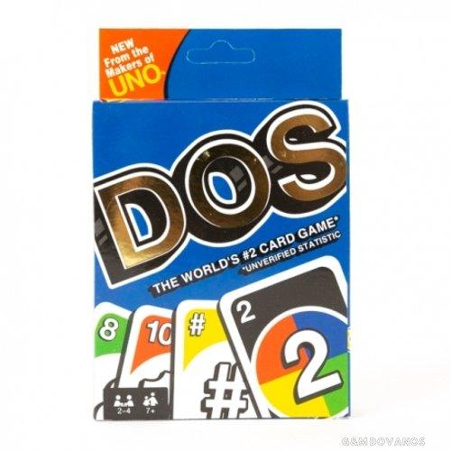 DOS žaidimo kortos